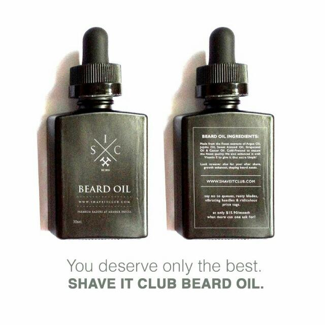 SHAVE IT CLUB – ULTIMATE BEARD OIL
