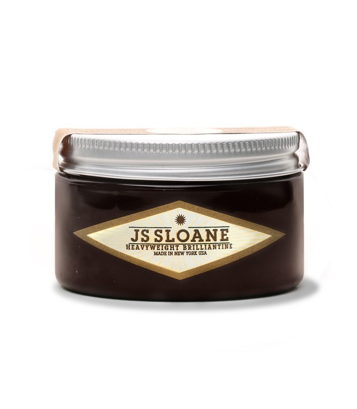 JS SLOANE – HEAVYWEIGHT BRILLIANTINE 4 OZ
